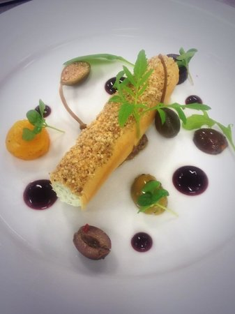 twin farms: Goats cheese starter....
