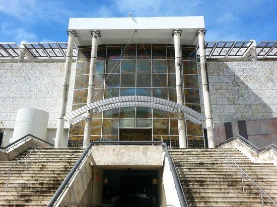 Back view of Museo de Arte de Puerto Rico