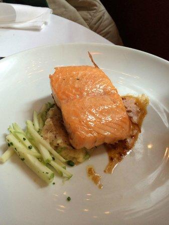 David Burke Townhouse : Glazed Salmon