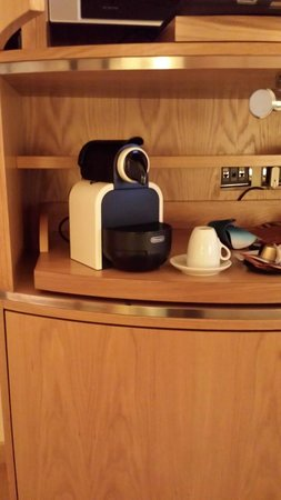 Fortyseven Hotel Rome : Be sure to ask for a Nespresso machine in your room