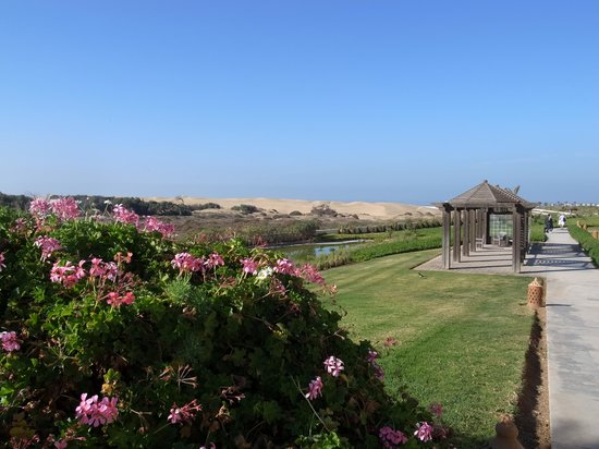 Robinson Club Agadir : ...auf dem Weg zum Meer...