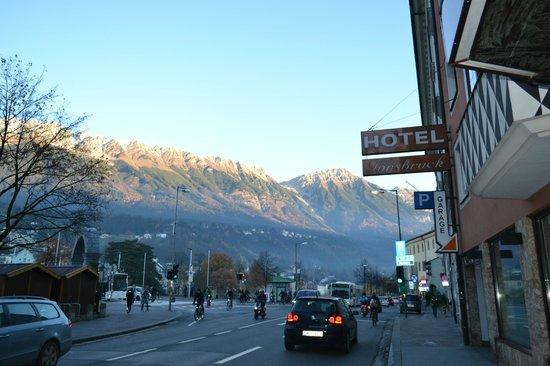 Hotel Innsbruck: Кругом - красота!