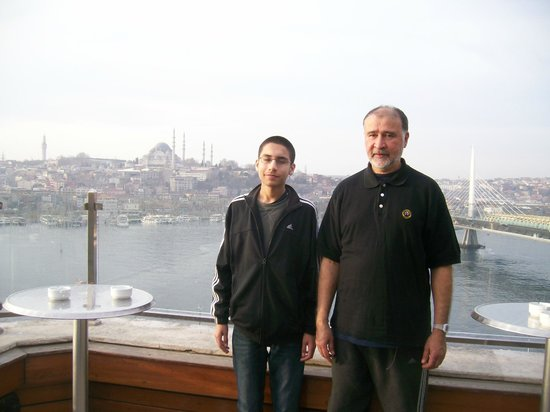 Istanbul Golden City Hotel: view from resturant