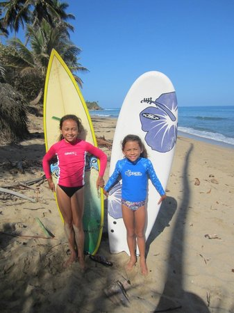 Lesson with Puntas Surf School