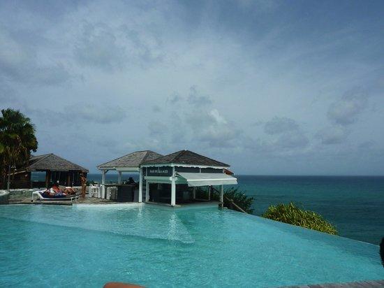 La Toubana Hotel & Spa: Piscine à débordement