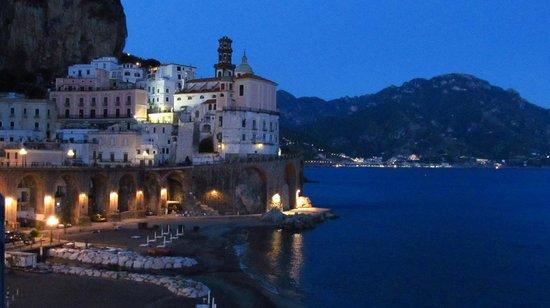 view of Atrani from La Scogliera