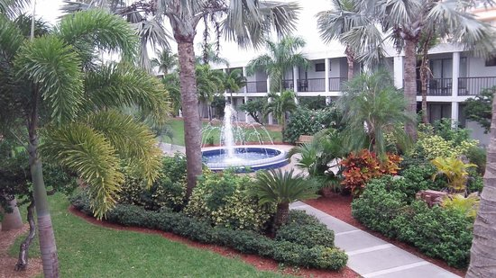 Beachcomber Beach Resort & Hotel : The grounds