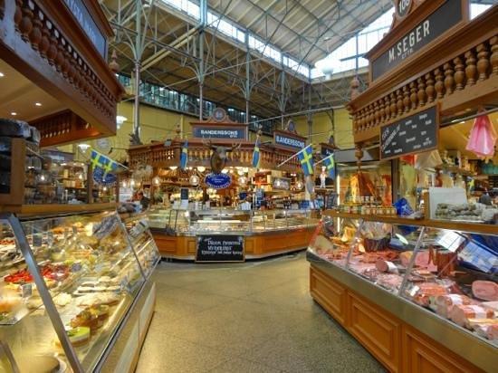 Östermalm Saluhall: mercato