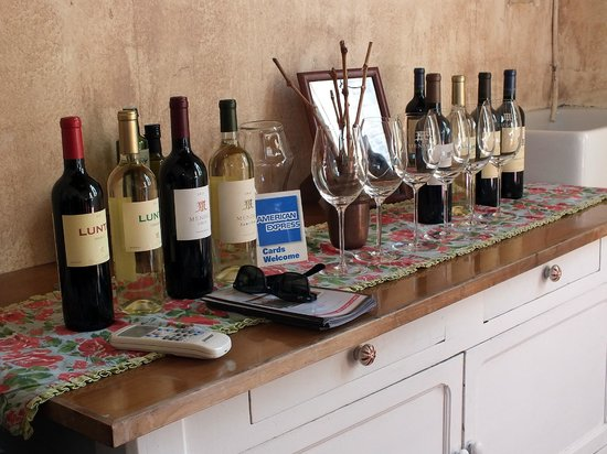 Uncorking Argentina Private Tours : Mendel Winery tasting room