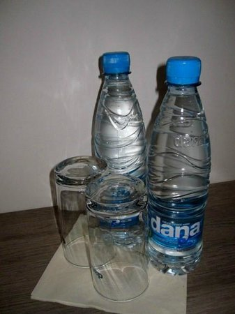 Hotel Meksiko: complimentary water