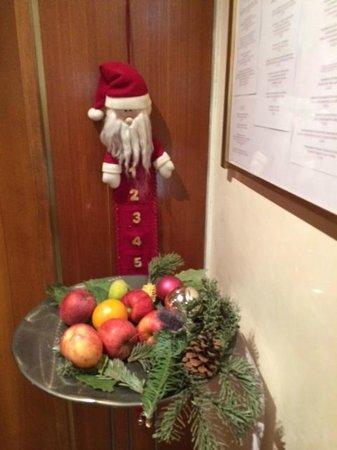 Hotel Aurora: Рождественское оформление