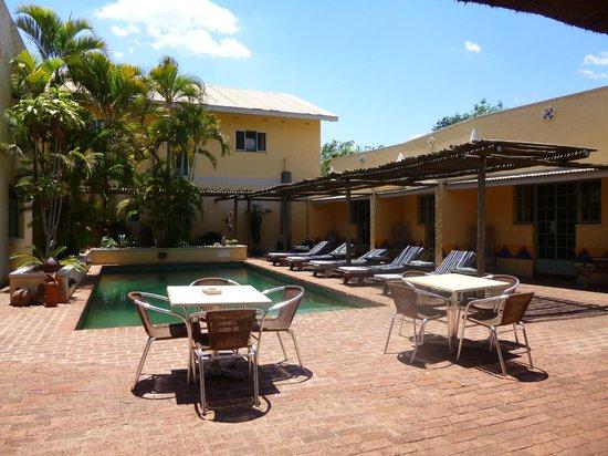 Amadeus Garden: Poolbereich