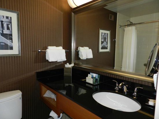 Hilton San Francisco Financial District : Bagno