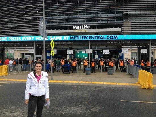 MetLife Stadium: Entrada do estádio