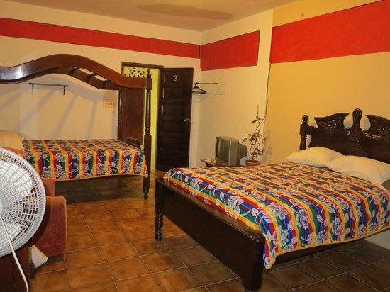 Rainforest Haven Inn : Room