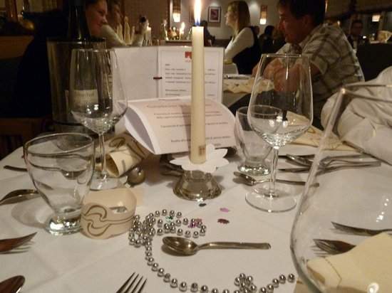 Muhlwaldhof: cena capodanno
