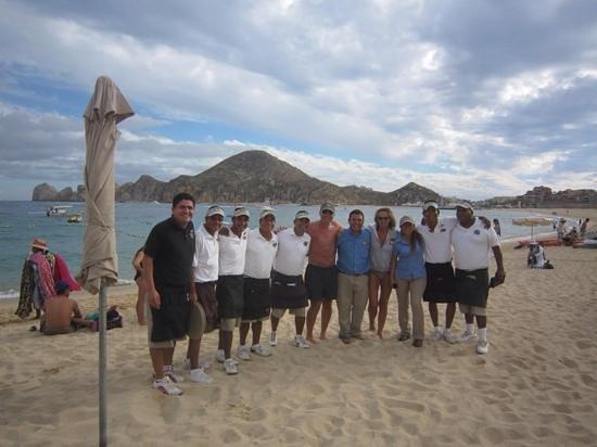 Baja Cantina Beach Club : Baja Cantina Crew - best on Medano Beach