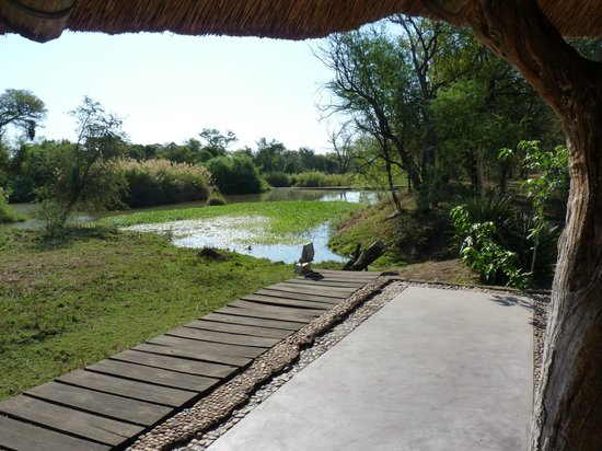 Mogalakwena River Lodge : Blick von unserer Terrasse