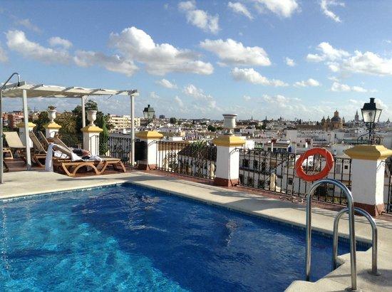 Tryp Macarena: La vue du toit