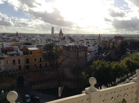 Tryp Macarena: La vue de Seville du toit de l'hôtel