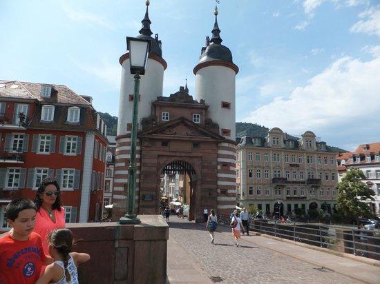 Carl Theodor Old Bridge (Alte Brucke): Crossing the Old Bridge.