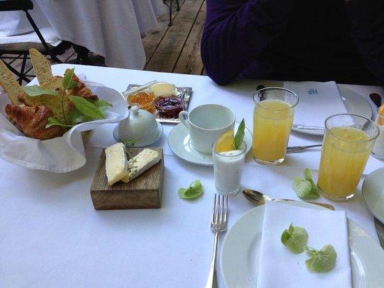 Hotel Particulier : wonderful breakfast!!