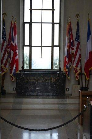 Monumento y Cementerio Estadounidense de Normandía: Normandy American Cemetary1