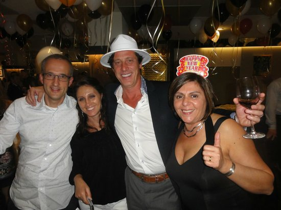 Mediterraneo Restaurant: Foto 1 - Con Alessandro