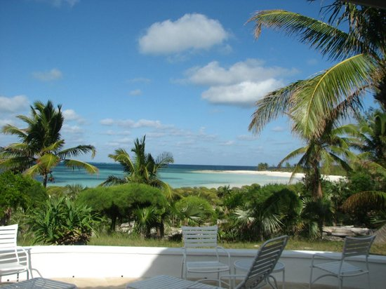 Winding Bay: view from High Tide Villa