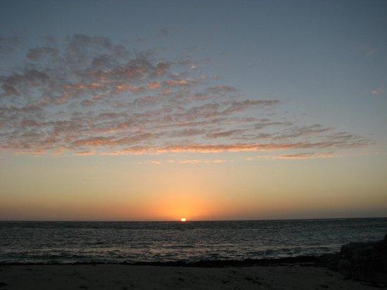 sunrise on Winding Bay