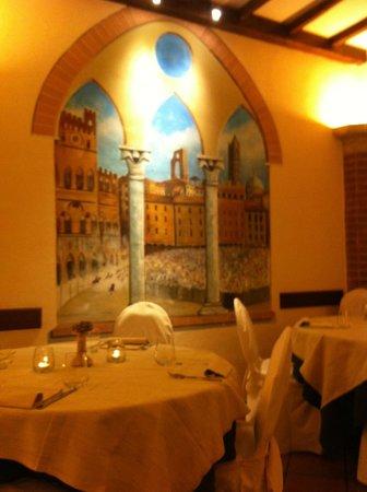 """Hotel Athena: Ristorante """"Il Mangia"""" - Dettaglio Dipinto"""