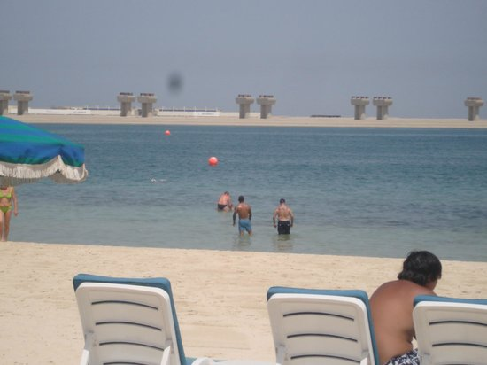 JA Jebel Ali Beach Hotel: sorry but this is your view out to sea