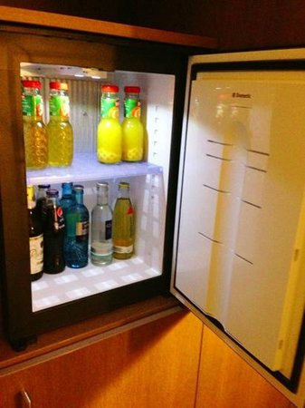 IntercityHotel Mainz: Bar fridge