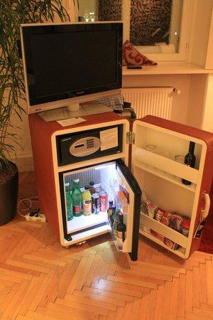 Hotel Das Weitzer: Mini bar