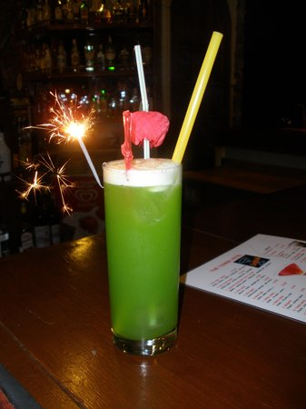 The Tower Hotel: Cocktail created by Baba