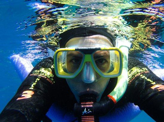 Poseidon Outer Reef Cruises : Snorkle fun