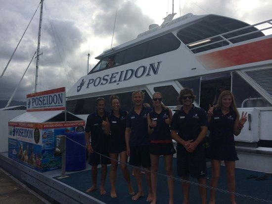Poseidon Outer Reef Cruises : Outstanding crew