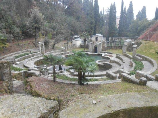 Il Vittoriale degli Italiani: laghetto