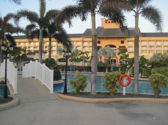 St. Kitts Marriott Resort & The Royal Beach Casino: View from the back of the main building