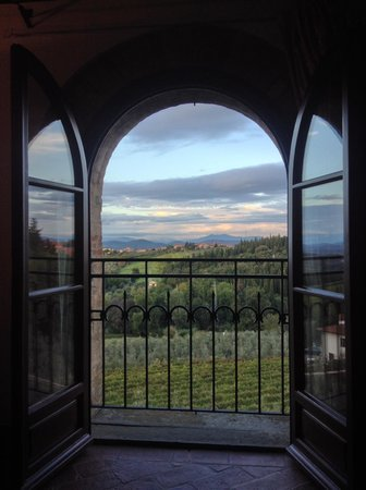 Villa Le Torri: View from our bedroom