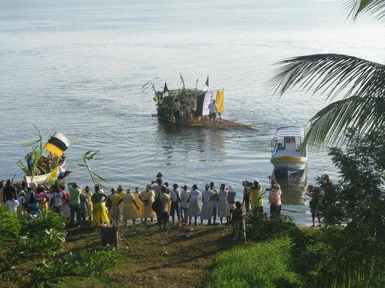 Seven Altars: Garifuna Day boats