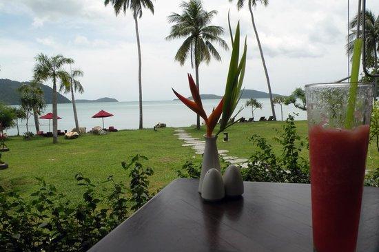 The Vijitt Resort Phuket : breakfast view