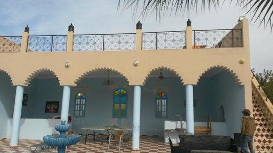 Riad Qodwa: Balcony