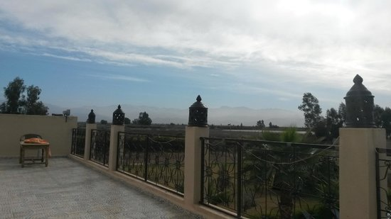 Riad Qodwa: From the balcony