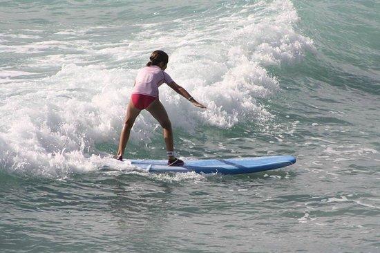 Burkie Surf School: Maddie at Burkies Surf School