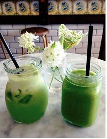 Porch and Parlour: Green Smoothie & Green Juice