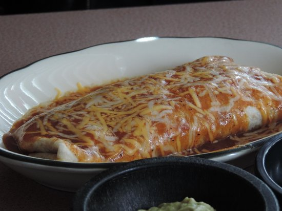 Olvera's: Chicken Burrito Hold the Beans!