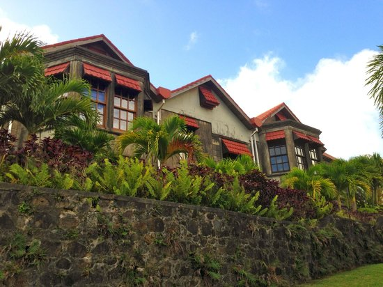 The Lodge Grenada: Exterior of The Lodge.