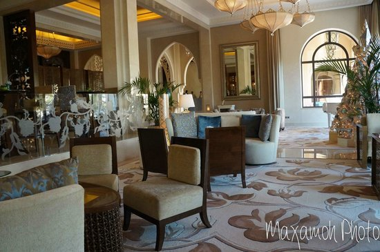 One&Only The Palm Dubai: Lobby Chairs