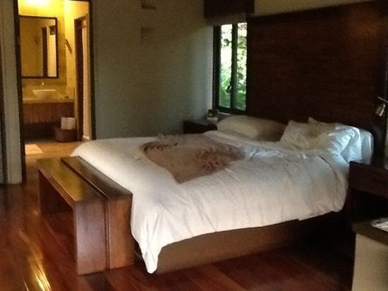 El Silencio Lodge & Spa : very comfortable bed
